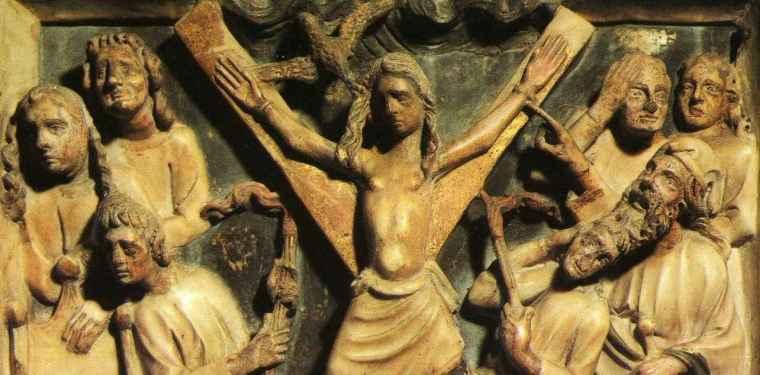 Sainte Eulalie sur sa croix